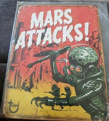 Mars Attacks Decorative Metal Tin Sign