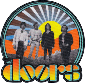 The Doors Patch Rock Music Band