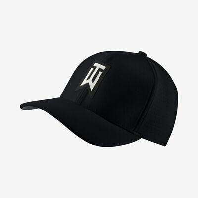 Nike TW Ultralight Tour Cap Tiger Woods Collection Swoosh Logo Unisex Hat OS