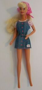 """Mattel Barbie Doll with BONGO Fashion Clothes Outfit, Scarf and Earrings 11.5"""""""