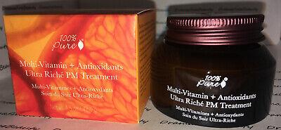 Multi-Vitamin + Antioxidants Ultra Riche PM Treatment by 100% pure #21