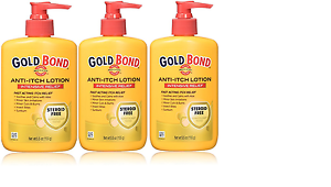 Gold Bond Anti Itch Lotion 5.5 Ounce, Bottles 3 Pack