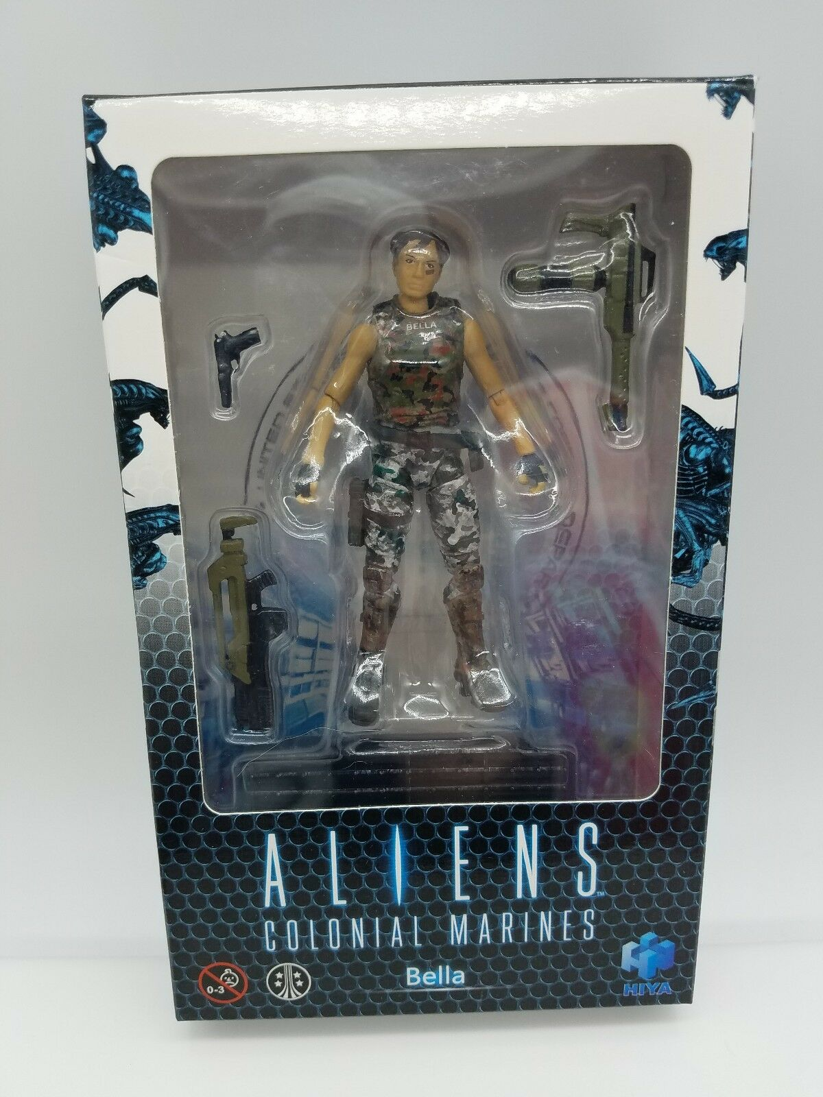 Aliens Colonial Marine Bella 4  Action Figure 2018 Fox Video Game Hiya Toys
