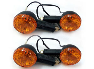 Genuine-Royal-Enfield-Classic-350cc-500cc-Front-amp-Rear-Indicator-Assembly-Black