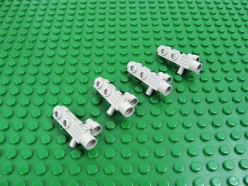 4x LEGO Old Gray Space Gun Camera with Side Sight Classic Space #4360
