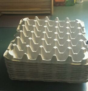 30 count egg cartons paper trays flats crafts 10 pieces for How to make paper egg trays
