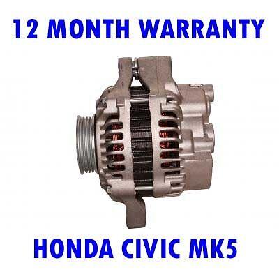 HONDA CIVIC MK5 MK V 1.4 1995 1996 1997 1998-2001 ALTERNATOR