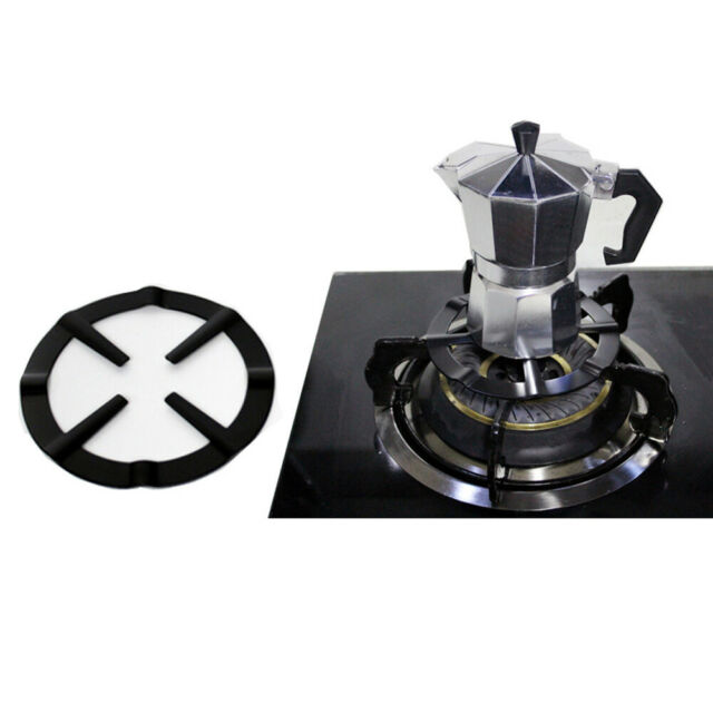 BH/_ Stainless Steel Stove Top Reducer Support Coffee Pot Simmer Ring Tool Se GC