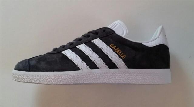 new products 8b2a3 9450f Adidas Donna Gazzella Scarpe da Allenamento Grigio Scuro Nuovo by2851 UK 4 ,4.5,8