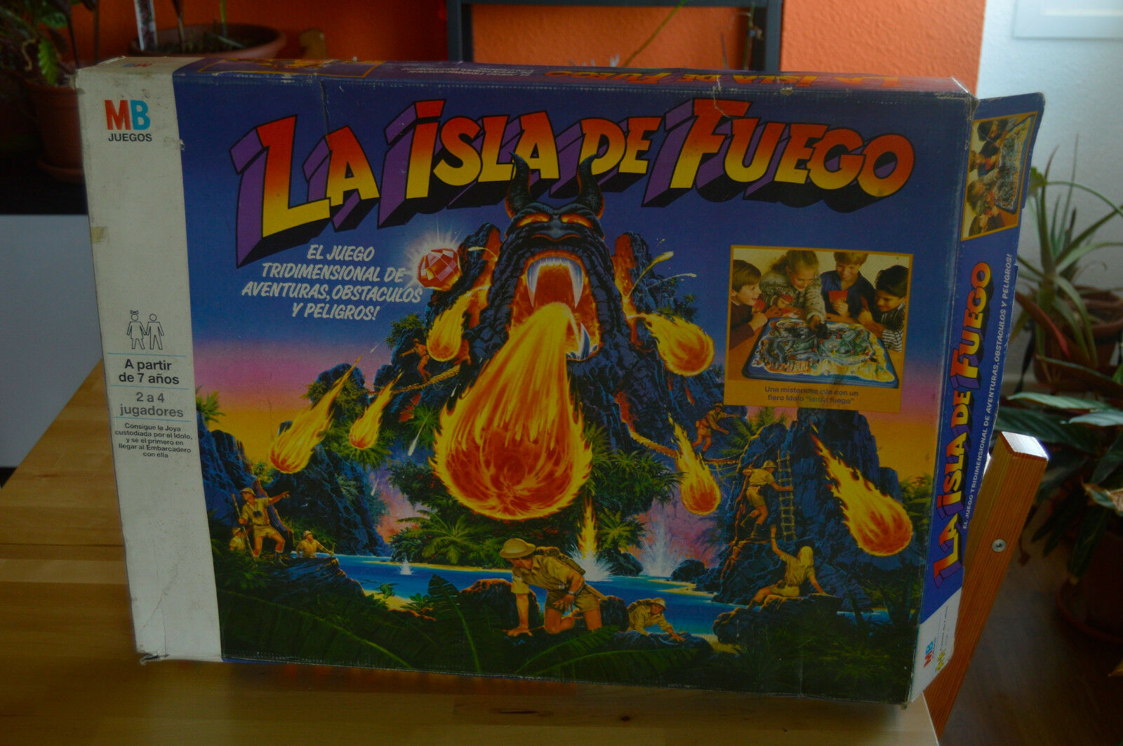 FIREBALL ISLAND - VUURBAL EILAND;L'ILLE INFERNALE (New - Sealed) 1987