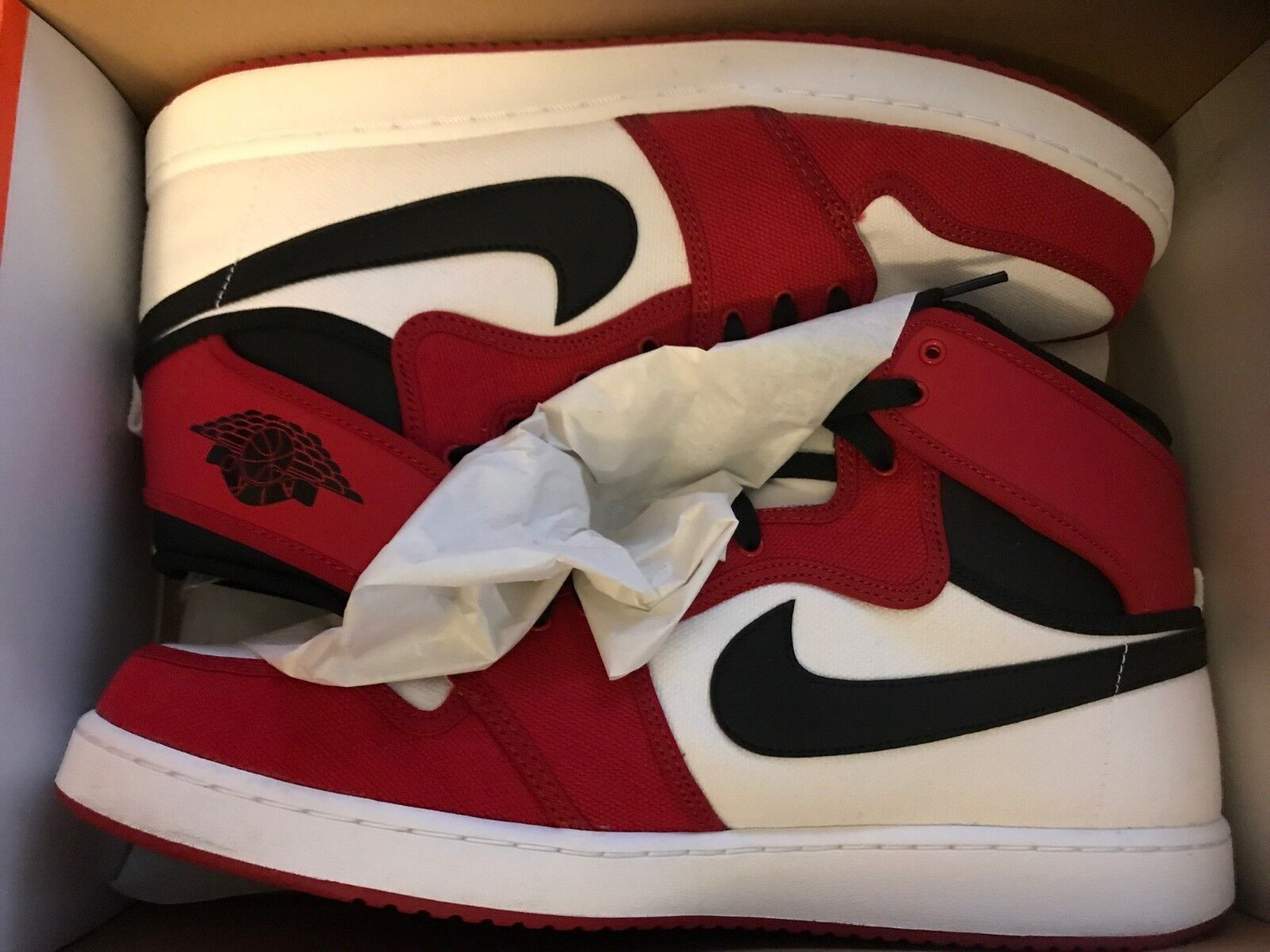 air jordan retro 1 high KO size 14 worn once for 20 minutes
