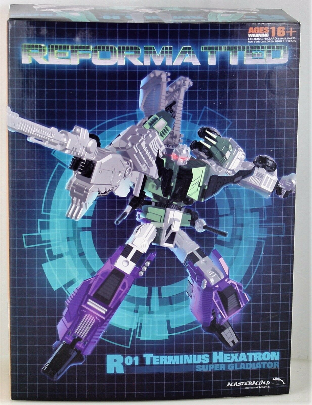 Mastermind Creations MMC Reformatted R-01 Terminus Hexatron 3rd Party Figure MIB