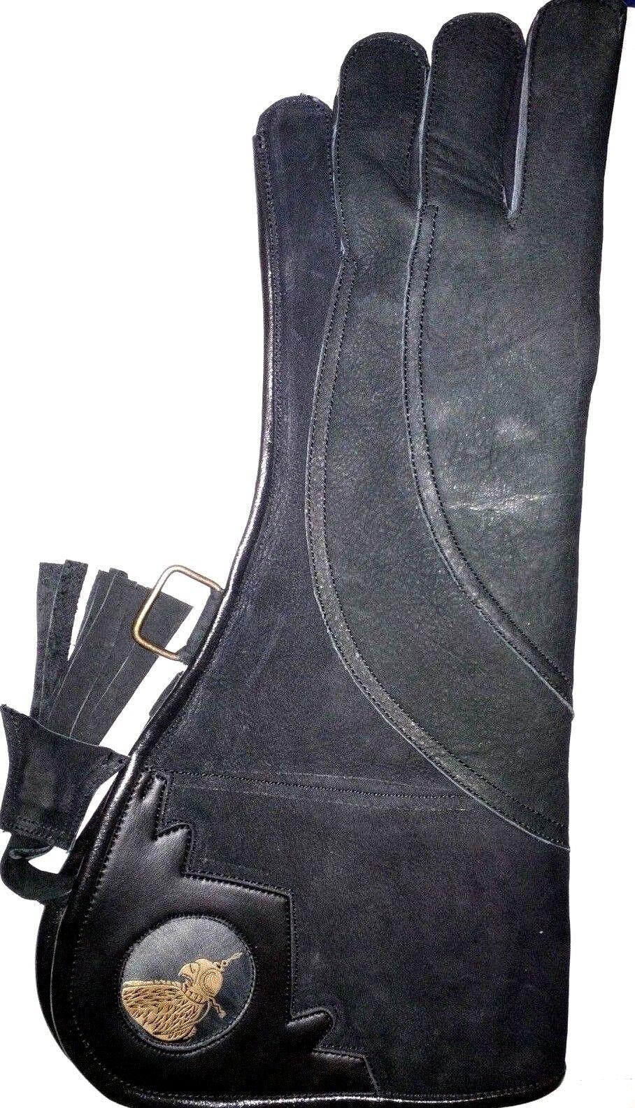 Heavy Duty Duty Duty Adler Falknerei Handschuh 43.2cmlong 4 Schicht Nubuk Leder ( Matt 463f39