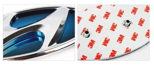 YF SONATA Hybrid i45 Blue Front Rear Emblem SET 2010 2011 2012 Hyundai OEM