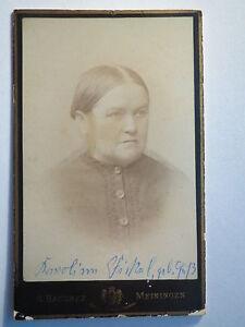 Meiningen-Frau-Karoline-Fickel-geb-Guss-Portrait-CDV