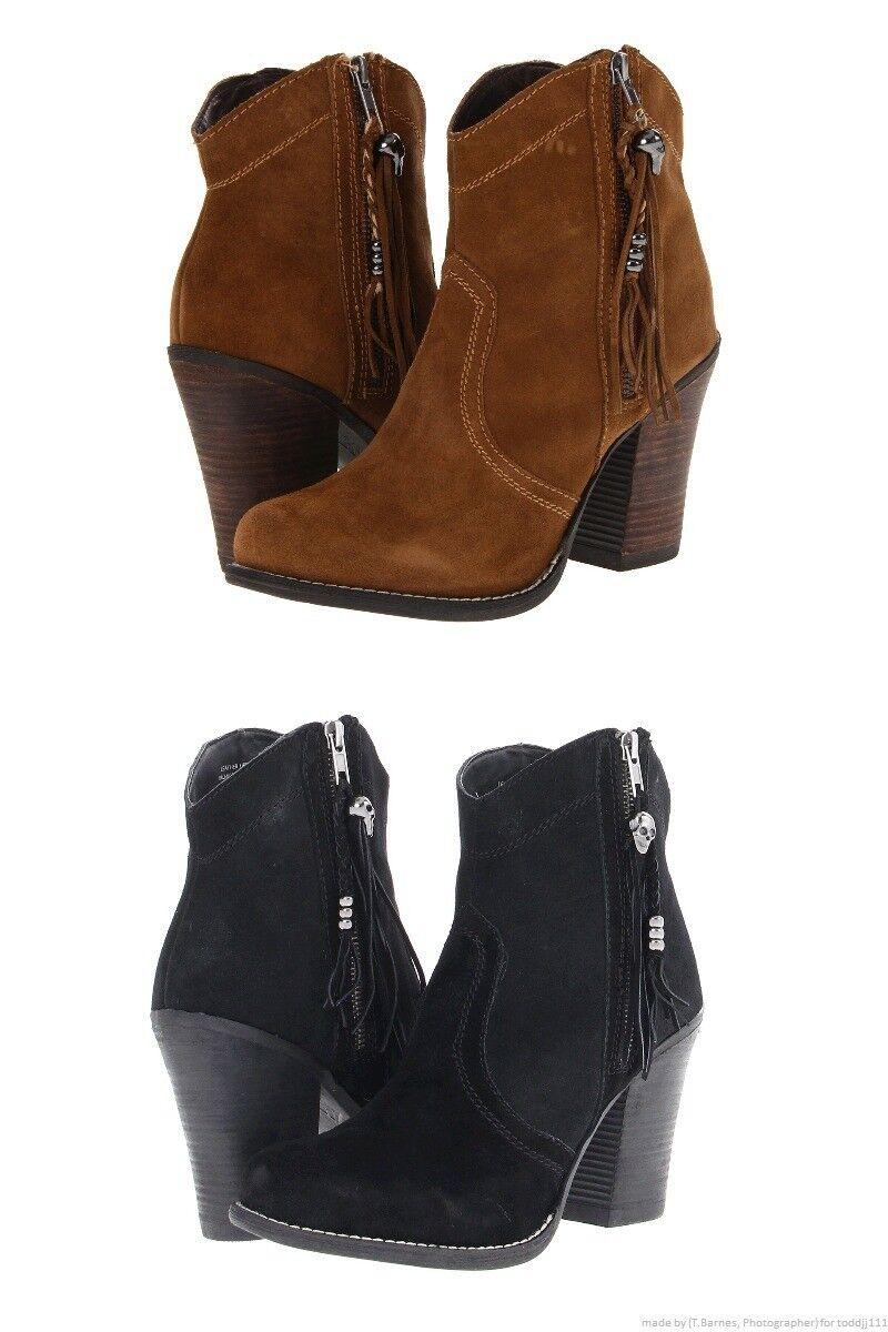 Größe 8.5 KELSI DAGGER Suede Damenschuhe Boot Schuhe  Reg180 Sale64.99 LastPairs