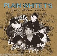 PLAIN WHITE T'S - Every Second Counts (USA 13 Tk Enh CD Album)