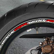 8 x CBR 600 RR  Wheel Rim Stickers Decals  cbr600 600rr - B