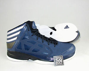 huge selection of fe950 7fee2 Image is loading New-US-13-Adidas-CRAZY-SHADOW-Mens-Navy-