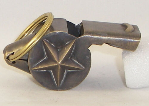 Brass Working NYFD Whistle