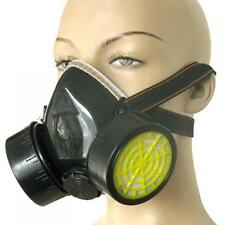 Anti-Dust Soft Spray Industrial Chemical Gas Respirator + Double Cartridge Mask