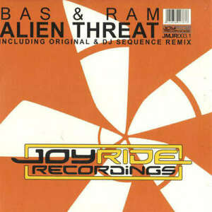 "Bas & RAM-alieno Threat 12"" vinile disco 181701"