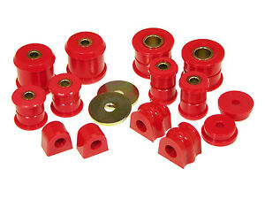 Prothane-Complete-Total-Suspension-Bushing-Kit-for-98-06-Subaru-WRX-Impreza-Red