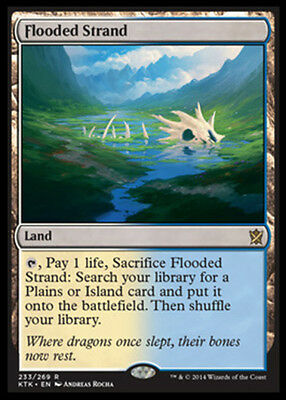 Flooded Strand x1 Magic the Gathering 1x Khans of Tarkir mtg card