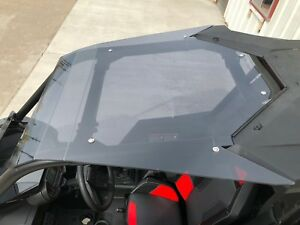 RZR-RS1-ROOF-1000-Smoked-Polycarbonate-SHOULDER-COVERAGE-Tinted-Polaris-2018-20