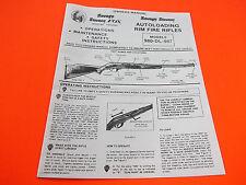 savage stevens 980 dl 987 rim fire rifle owners manual ebay rh ebay com Corvette Owners Manual Service Manuals
