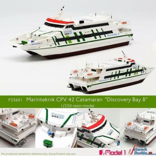 1//250 Hong Kong Marinteknik CPV 42 Catamaran Discovery Bay 8 Model Ferry Ship