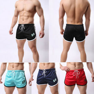 Men-039-s-Shorts-Running-Mesh-Jogging-GYM-Trunks-Short-Pants-Athletic-Sports-Boxers