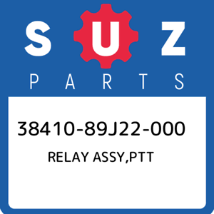 38410-89J22-000-Suzuki-Relay-assy-ptt-3841089J22000-New-Genuine-OEM-Part