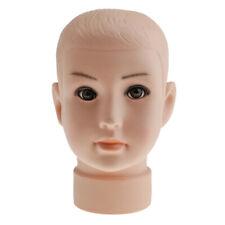 Baby Boys Children Mannequin Child Manikin Head Kid Model For Hair Wig Hats