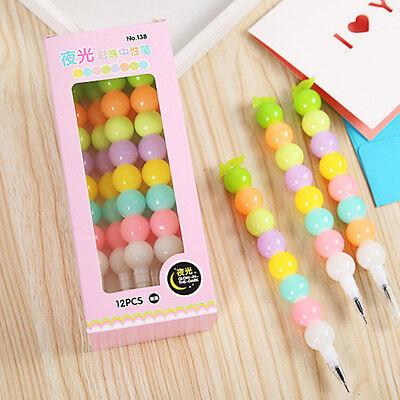 Luminous gourd Gel Pen Cute Pens Student Office Accessories Hot WKAU