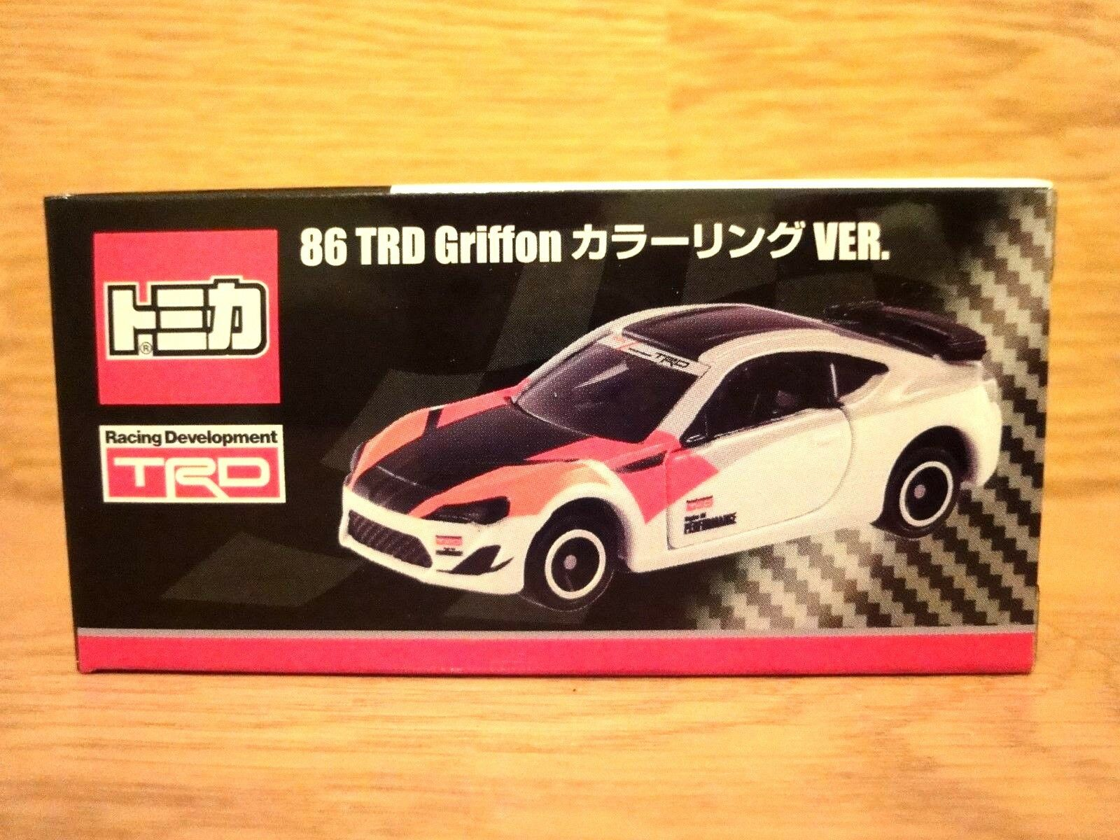 Valuable  TOMICA TOYOTA 86 TRD Griffon Coloring VER.  Japan Limited