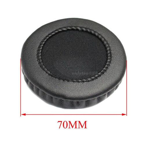 70mm ear pads cushion earpad cover replacement foam for headset headphone RSJKU