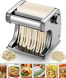 Automatico elettrico pasta macchina per caff motorizzato tagliatelle ebay - Macchina per cucinare ...