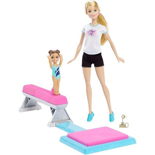 Barbie Flipping Fun Gymnast Set BNIB SHIPS FAST