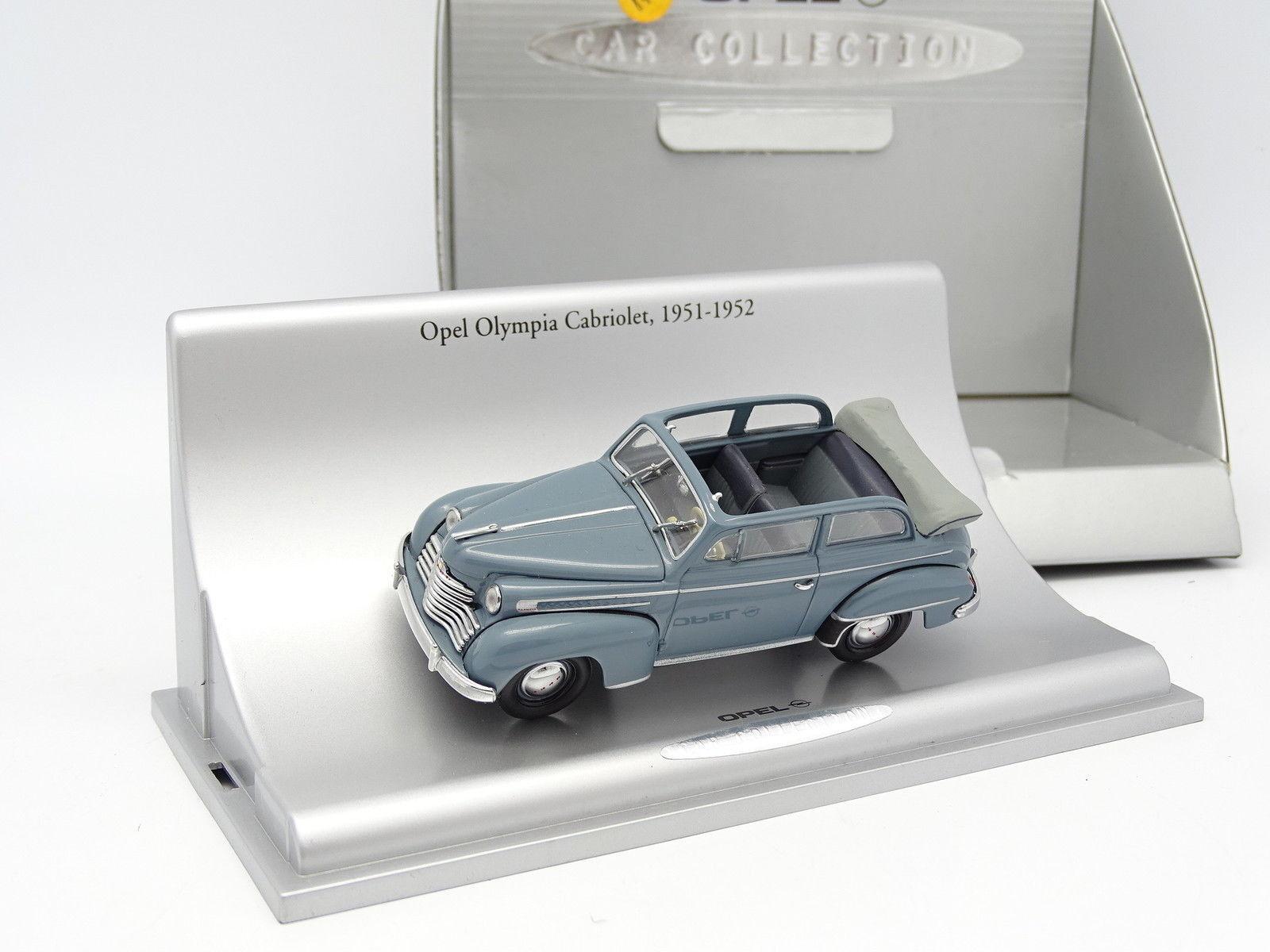 Schuco 1/43 - Opel Olympia Cabrio 1951