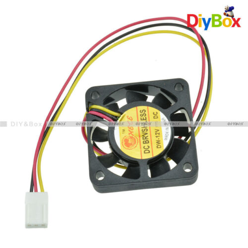 12V 3Pin 40mm Mini 4cm DC Brushless Computer Cooler Cooling Fan PC 40X40X10MM D