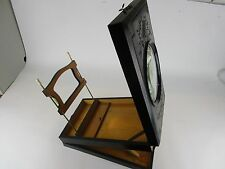 Antique English Graphoscope with Cards Stereoscope stereo viewer