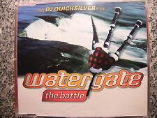 Watergate / The Battle – incl DJ Quicksilver Mixes – Maxi CD