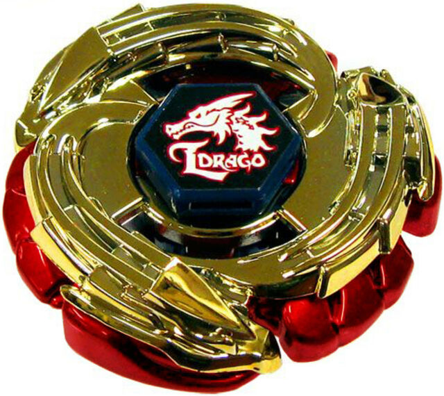 Limited Edition Red Gold Lightning L-drago WBBA Metal Fight Beyblade