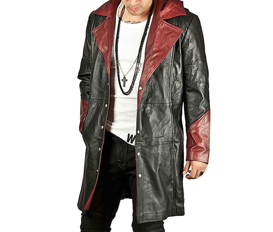 Devil May Cry DMC 5 Dante Halloween Hooded Trench Coat