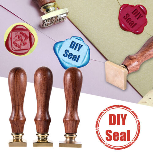 Retro Alphabet Letter A-Z Initial Sealing Wax Seal Stamp Invitations Making Acc