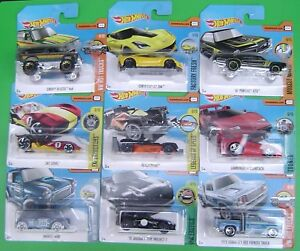 2017-Short-Card-Hot-Wheels-Cars-Choose-the-one-you-Want