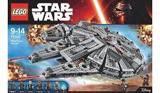 LEGO Star Wars Millennium Falcon minifigures 75105 milennium model space set kit