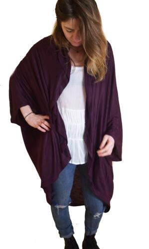 ONE SIZE Ladies Long Cardigans Kimonos Size UK 10-24 EU 36-50