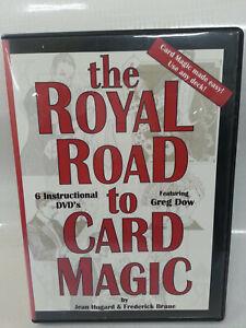 The Royal Road to Card Magic DVD 6 disc set - Jean Hugard & Frederick Braue